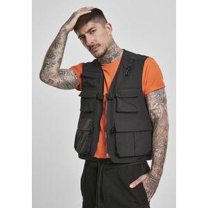 Urban Classics Tactical Vest black - XL vyobraziť