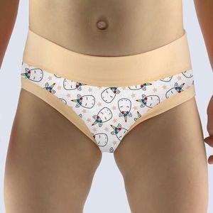 Dievčenské nohavičky Unicorn jogurtové vyobraziť