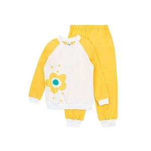 Dievčenské pyžamo Flower Yellow vyobraziť