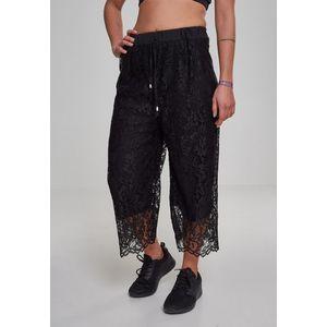 Urban Classics Nohavice 'Ladies Laces' čierna vyobraziť