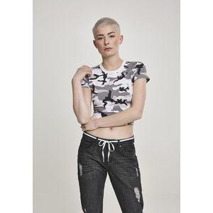 Dámske tričko Urban Classics Ladies Stretch Jersey Cropped Tee Veľkosť: XL, Pohlavie: dámske vyobraziť