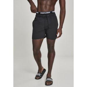 Urban Classics Two in One Swim Shorts blk/blk/wht - L vyobraziť