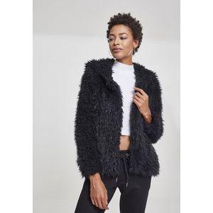 Dámska prechodná bunda s kapucňou URBAN CLASSICS Ladies Hooded Teddy Jacket Veľkosť: XL, Pohlavie: dámske vyobraziť