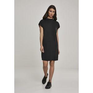 Dámske šaty URBAN CLASSICS Ladies Modal Dress black Veľkosť: XL, Pohlavie: dámske vyobraziť