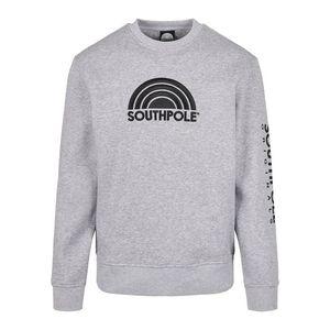 Pánska mikina Southpole Halfmoon Crew Farba: h.grey, Veľkosť: L vyobraziť