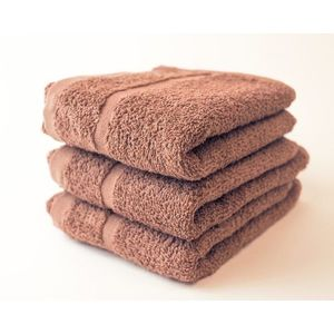 Dobrý Textil Malý uterák Economy 30x50 - Hnědá vyobraziť