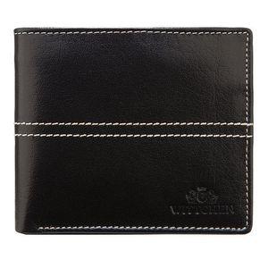 Praktická kožená peňaženka pre pánov. vyobraziť