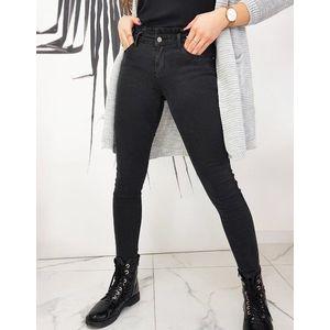 Dámske čierne džínsy VILIA UY0677 vyobraziť
