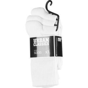 Urban Classics Sport Socks 3-Pack white - 43–46 vyobraziť