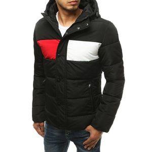 Trendy zimná čierna bunda vyobraziť
