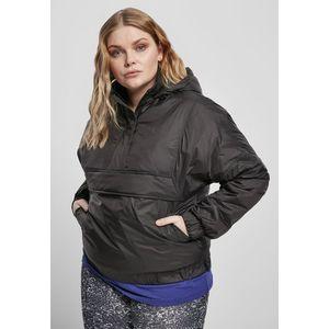 Urban Classics Ladies Panel Padded Pull Over Jacket black - 3XL vyobraziť