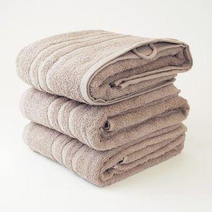 Dobrý Textil Osuška Economy 70x140 - Béžová vyobraziť