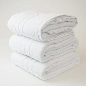 Dobrý Textil Osuška Economy 70x140 - Bílá vyobraziť