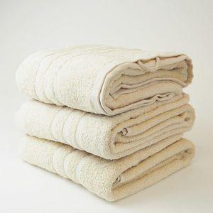 Dobrý Textil Osuška Economy 70x140 - Krémová vyobraziť