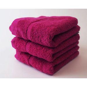 Dobrý Textil Malý uterák Economy 30x50 - Purpurová vyobraziť