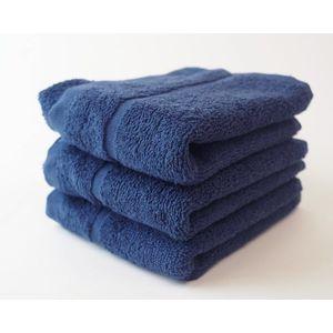 Dobrý Textil Malý uterák Economy 30x50 - Tmavě modrá vyobraziť