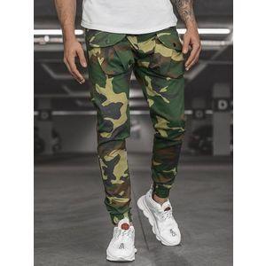 Pánske nohavice STYLE JOGGER zelené vyobraziť