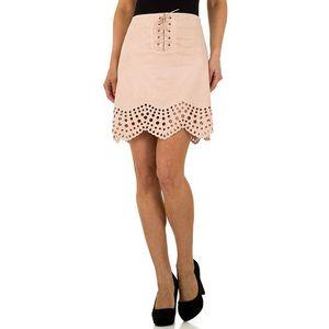 Dámska módna sukňa so šnurovaním vyobraziť