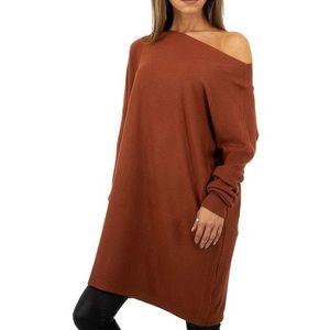 Dámsky dlhý pulóver whoo Fashion vyobraziť