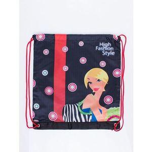 Dievčenské taška s motívom vyobraziť