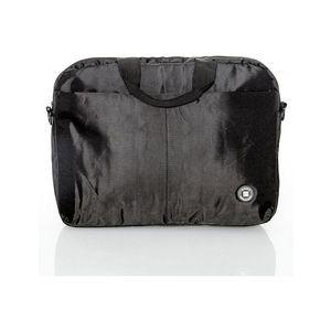 Čierna taška na notebook vyobraziť