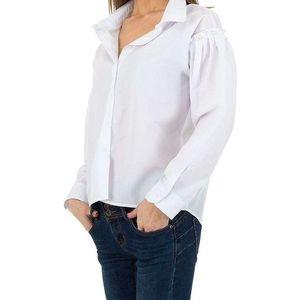 Dámska košeĺová blúzka vyobraziť