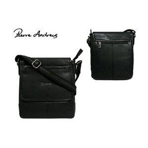 Atraktívna čierna taška pre pánov vyobraziť