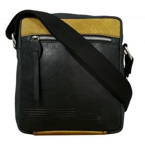 Štýlová čierna taška pre pánov vyobraziť
