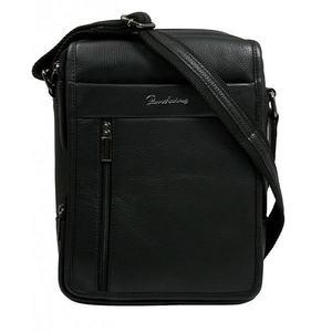 Čierna pánska taška na rameno vyobraziť