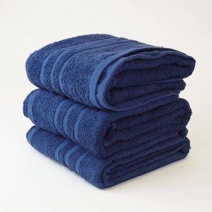 Dobrý Textil Osuška Economy 70x140 - Tmavě modrá vyobraziť