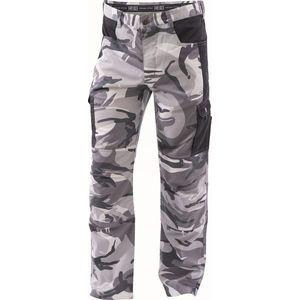 Cerva Pánske maskáčové nohavice CRAMBE - Maskáčová šedá | M vyobraziť