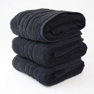 Dobrý Textil Osuška Economy 70x140 - Černá vyobraziť