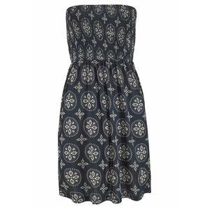 LASCANA Plážové šaty krémová / čierna vyobraziť