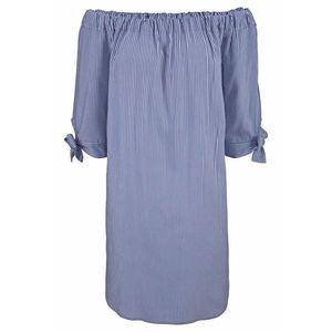 LASCANA Plážové šaty modrá / biela vyobraziť