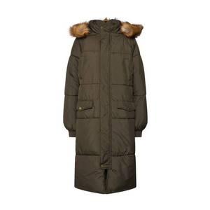 Urban Classics Curvy Zimný kabát olivová vyobraziť