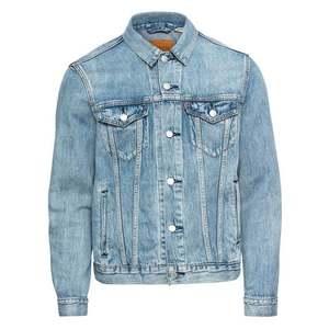 LEVI'S Prechodná bunda 'THE TRUCKER' modrá denim vyobraziť
