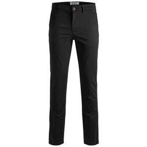 JACK & JONES Chino nohavice 'MARCO' čierna vyobraziť