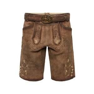 MARJO Krojové nohavice hnedé vyobraziť