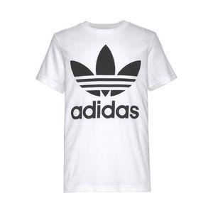 ADIDAS ORIGINALS Tričko 'TREFOIL' čierna / biela vyobraziť