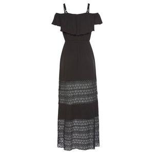 LASCANA Letné šaty čierna vyobraziť