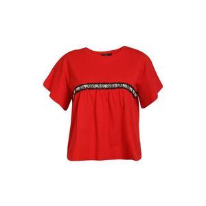 faina Tričko červená / čierna / biela vyobraziť
