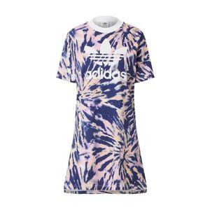 ADIDAS ORIGINALS Šaty svetlooranžová / biela / námornícka modrá / ružová vyobraziť