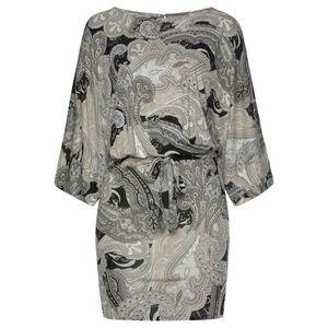 LASCANA Plážové šaty čierna / sivá vyobraziť