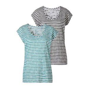 LASCANA Tričko zelená / biela / čierna vyobraziť