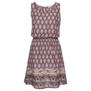 LASCANA Plážové šaty béžová / farba lesného ovocia / ružová vyobraziť