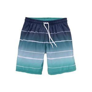 BENCH Plavecké šortky biela / tyrkysová / námornícka modrá / modrosivá vyobraziť