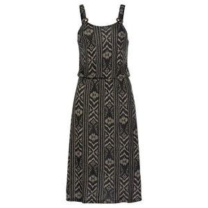 LASCANA Plážové šaty čierna / béžová vyobraziť
