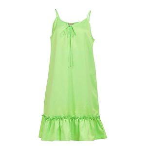 MYMO Letné šaty neónovo zelená vyobraziť