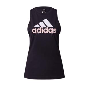 ADIDAS PERFORMANCE Športový top čierna / biela / ružová vyobraziť
