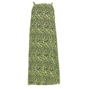 MYMO Letné šaty zelená / čierna vyobraziť